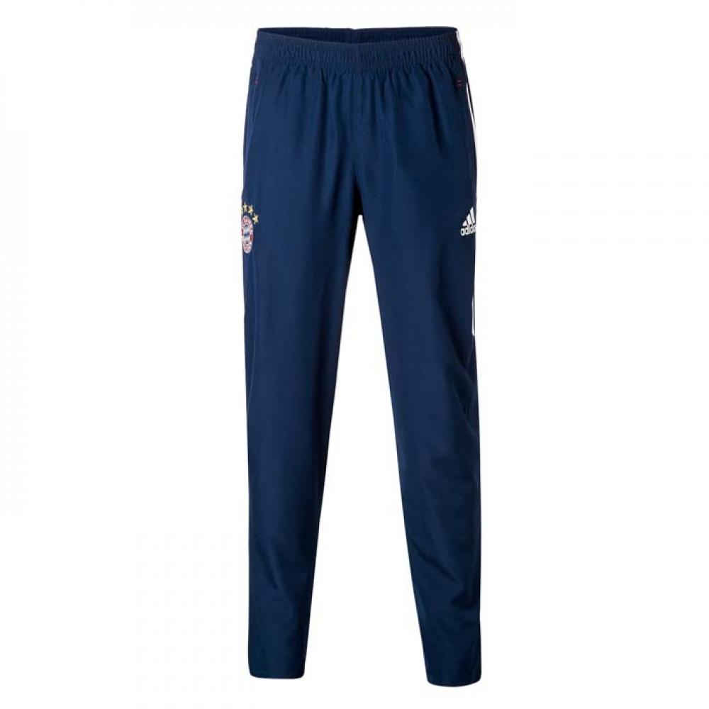 2017-2018 Bayern Munich Adidas Woven Pants (Navy) - Kids