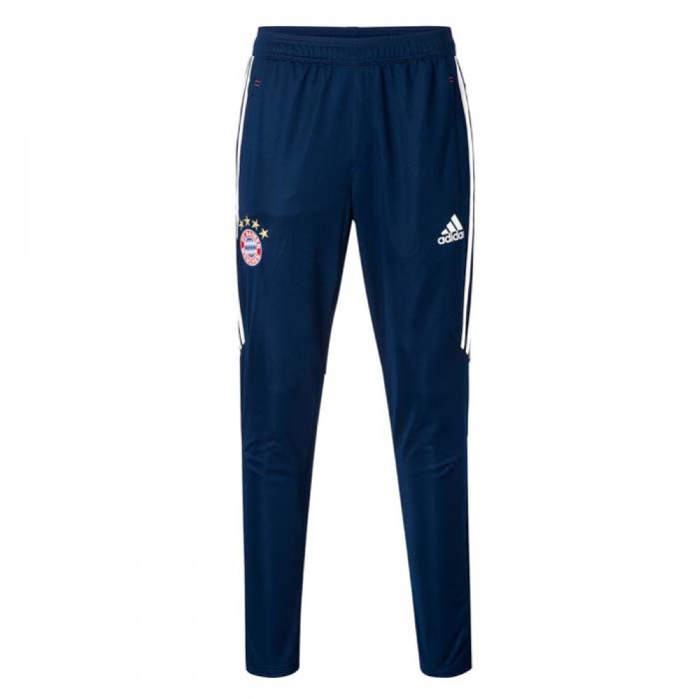 2017-2018 Bayern Munich Adidas Woven Pants (Navy)