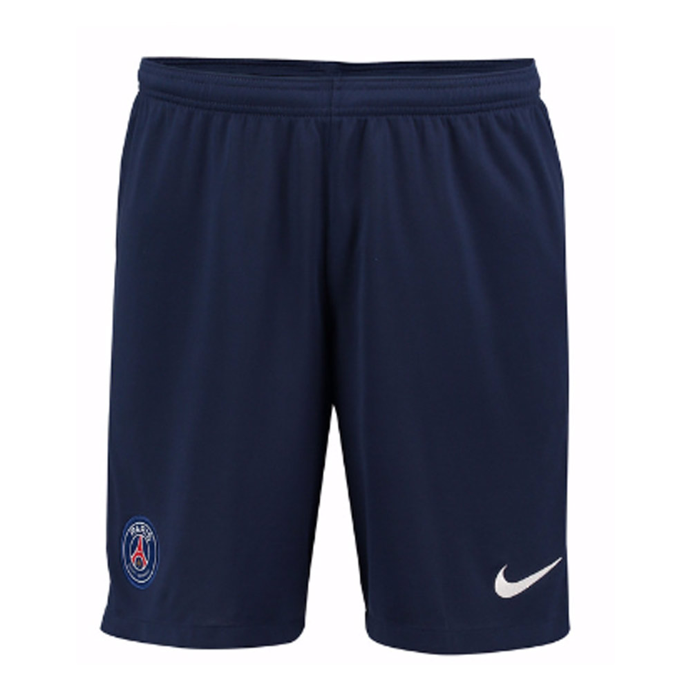 2017-2018 PSG Nike Home Shorts (Navy)