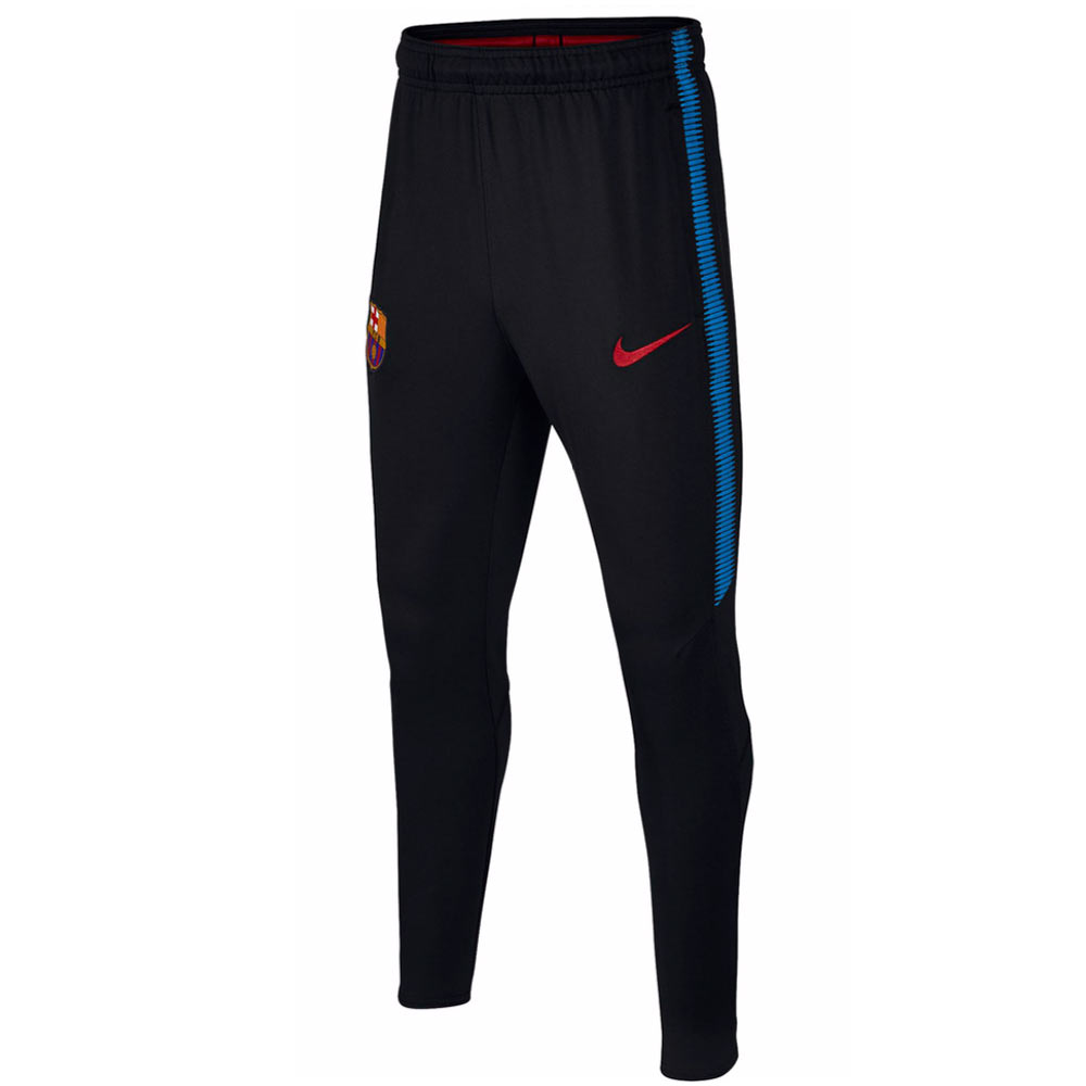 2017-2018 Barcelona Nike Training Pants (Black)