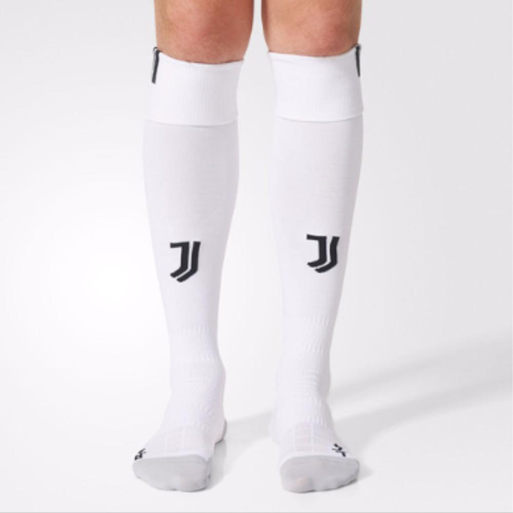 2017-2018 Juventus Adidas Home Football Socks (White)