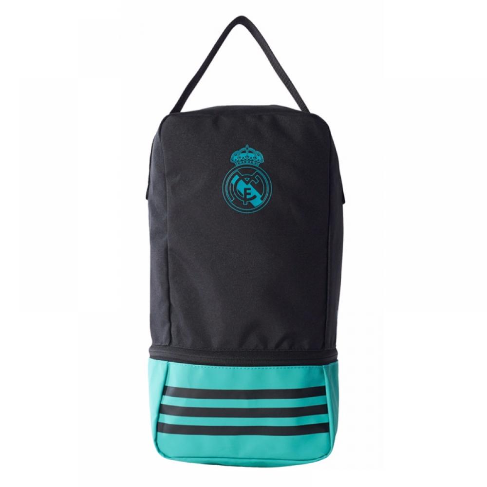 2017-2018 Real Madrid Adidas Shoe Bag (Black)