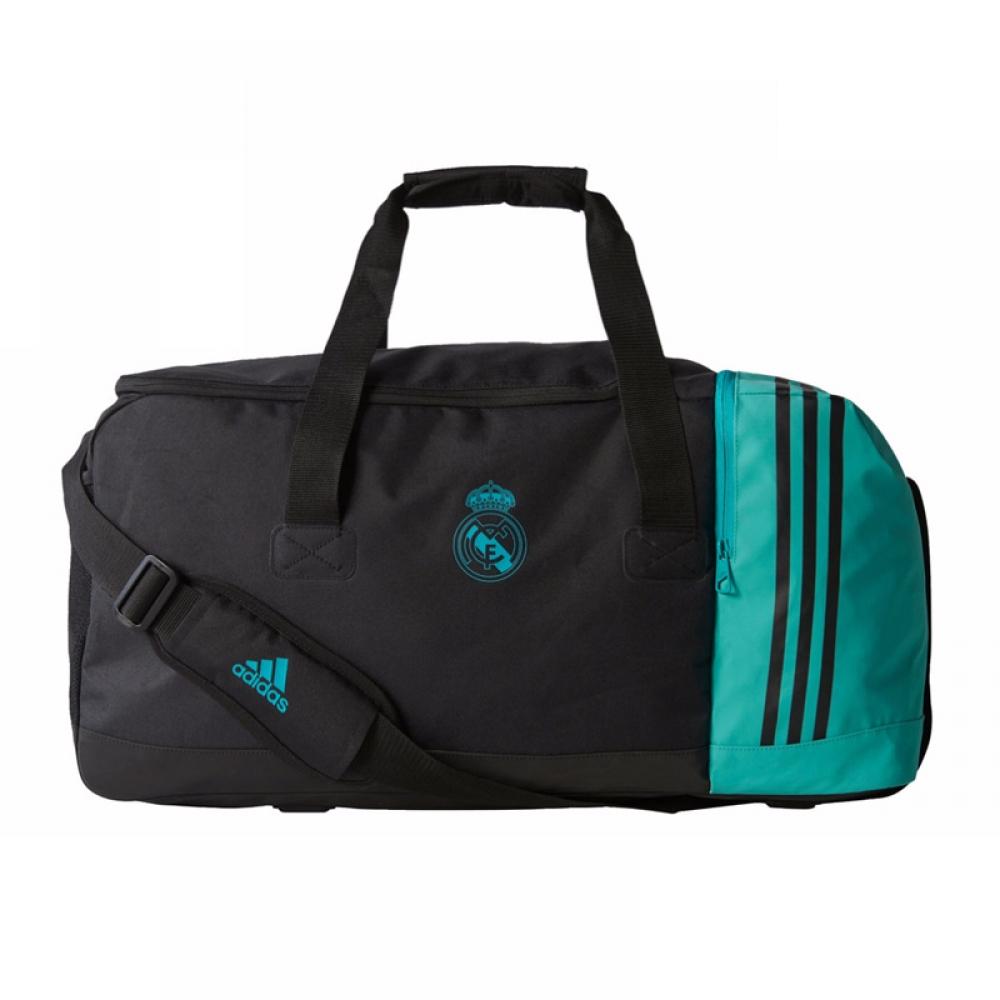 2017-2018 Real Madrid Adidas Team Bag (Black)