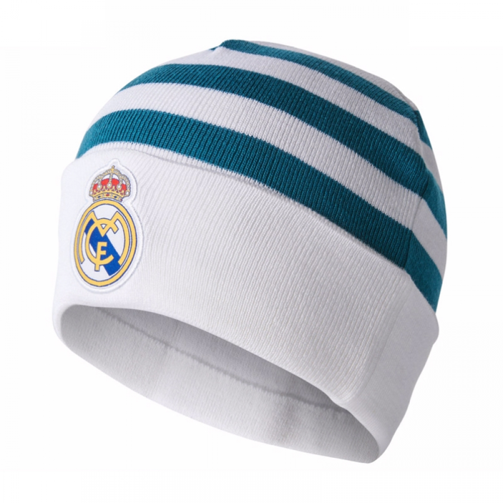 2017-2018 Real Madrid Adidas Woolie Hat (White)