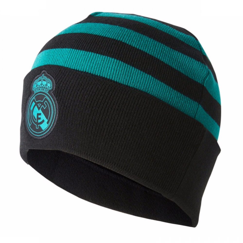 2017-2018 Real Madrid Adidas Woolie Hat (Black)