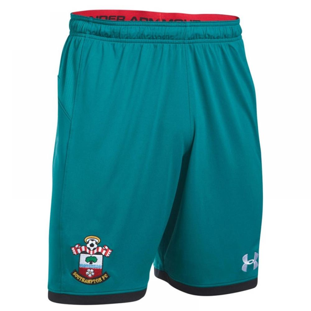 2017-2018 Southampton Away Football Shorts (Turquoise)