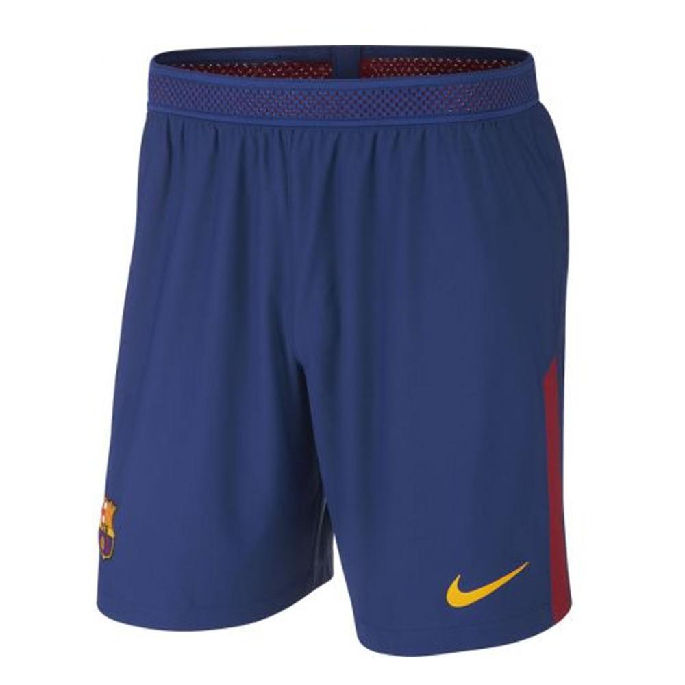 2017-2018 Barcelona Home Nike Vapor Match Shorts (Blue)