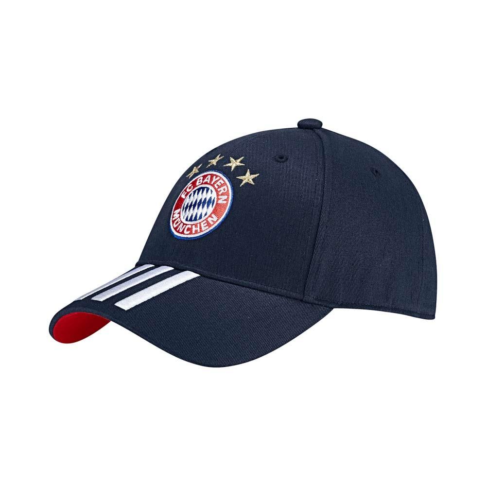 2017-2018 Bayern Munich Adidas 3S Cap (Navy)