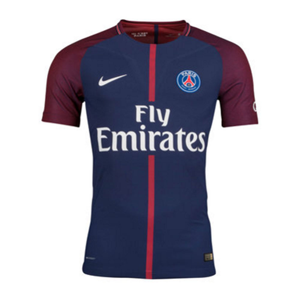 2017-2018 PSG Authentic Vapor Home Nike Shirt