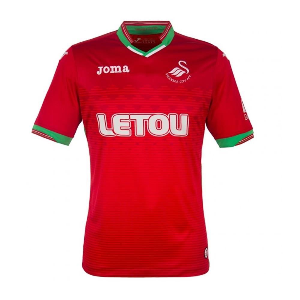 2017-2018 Swansea City Joma Away Football Shirt