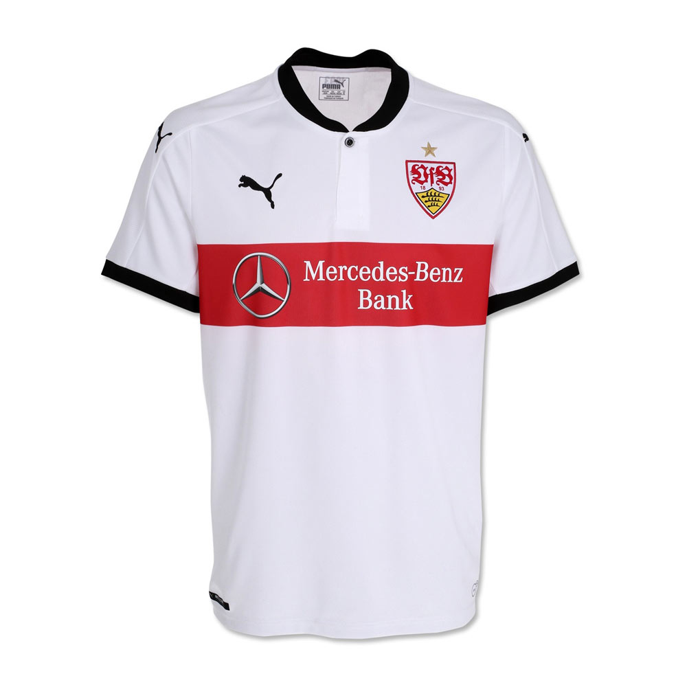 2017-2018 VFB Stuttgart Home Football Shirt (Kids)