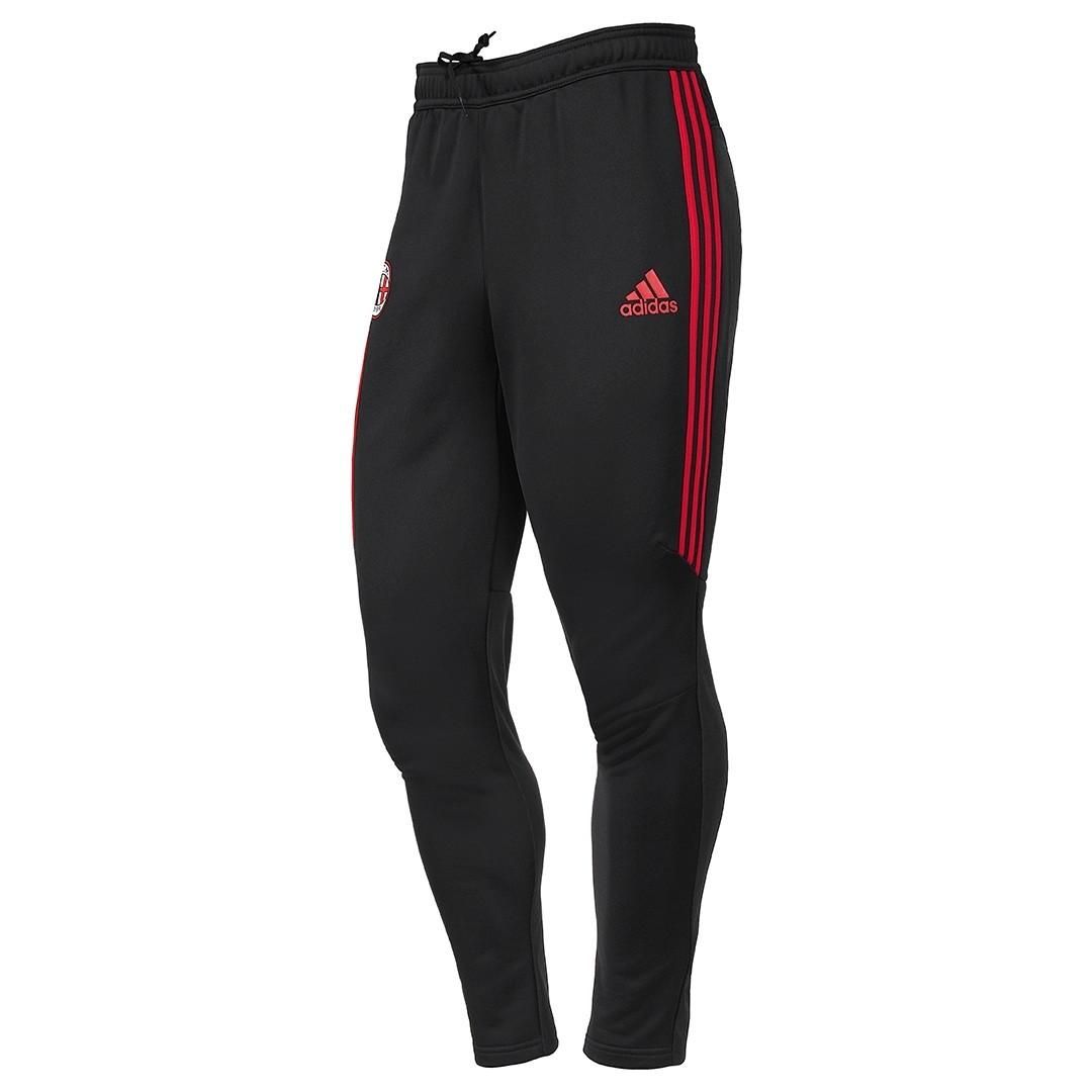 2017-2018 AC Milan Adidas Training Pants (Black)