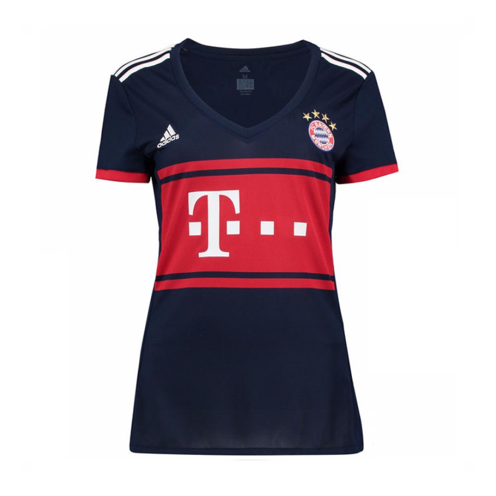 2017-2018 Bayern Munich Adidas Away Womens Shirt