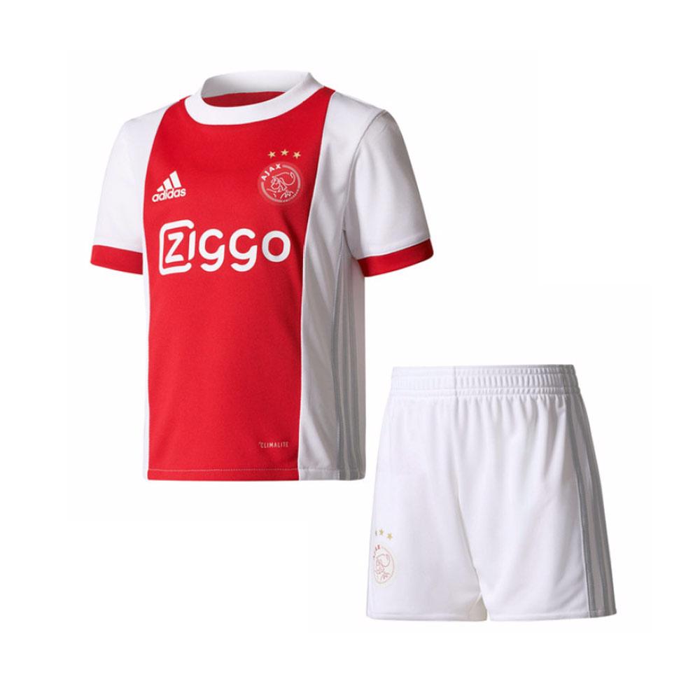 2017-2018 Ajax Adidas Home Baby Kit