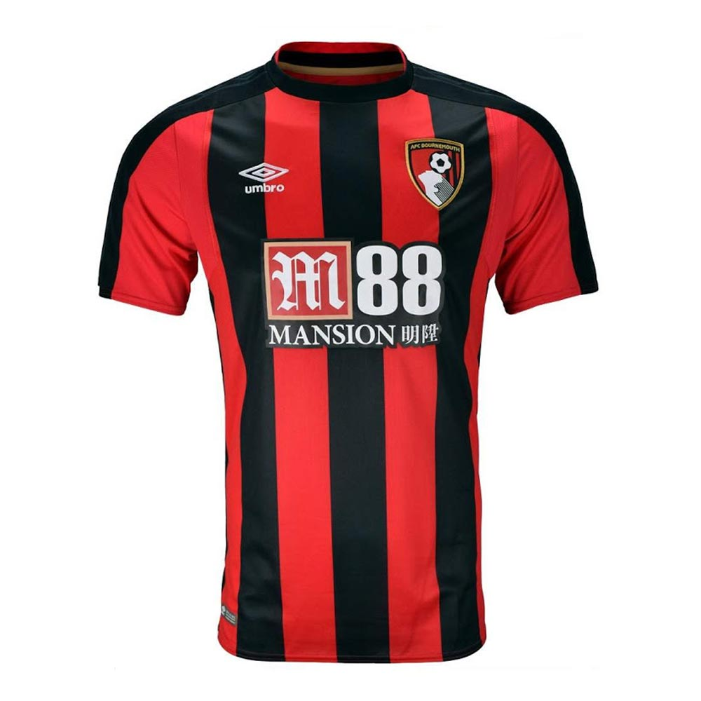 2017-2018 Bournemouth Umbro Home Football Shirt