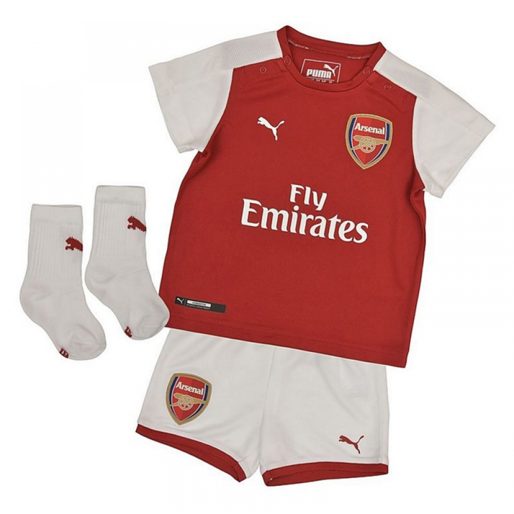2017-2018 Arsenal Home Baby Kit