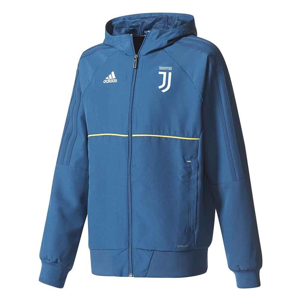 2017-2018 Juventus Adidas Presentation Jacket (Blue-Gold)