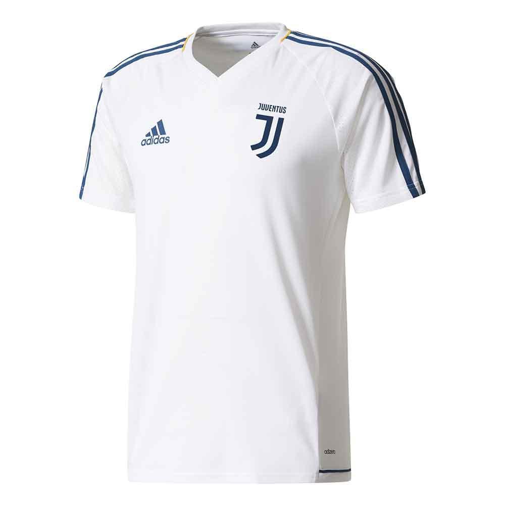2017-2018 Juventus Adidas Training Shirt (White)