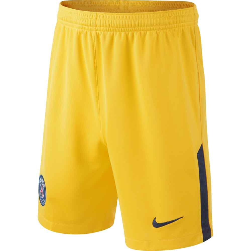 2017-2018 PSG Nike Away Shorts (Yellow)