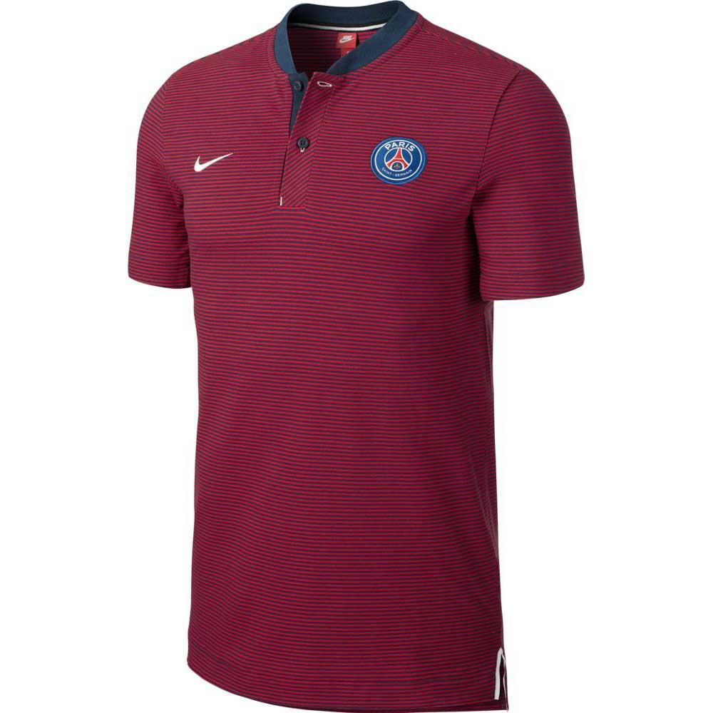 2017-2018 PSG Nike Authentic League Polo Shirt (Navy) - Kids