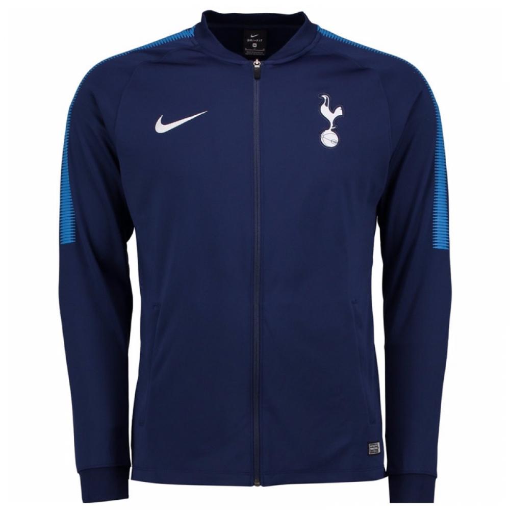 2017-2018 Tottenham Nike Squad Knit Track Jacket (Navy)