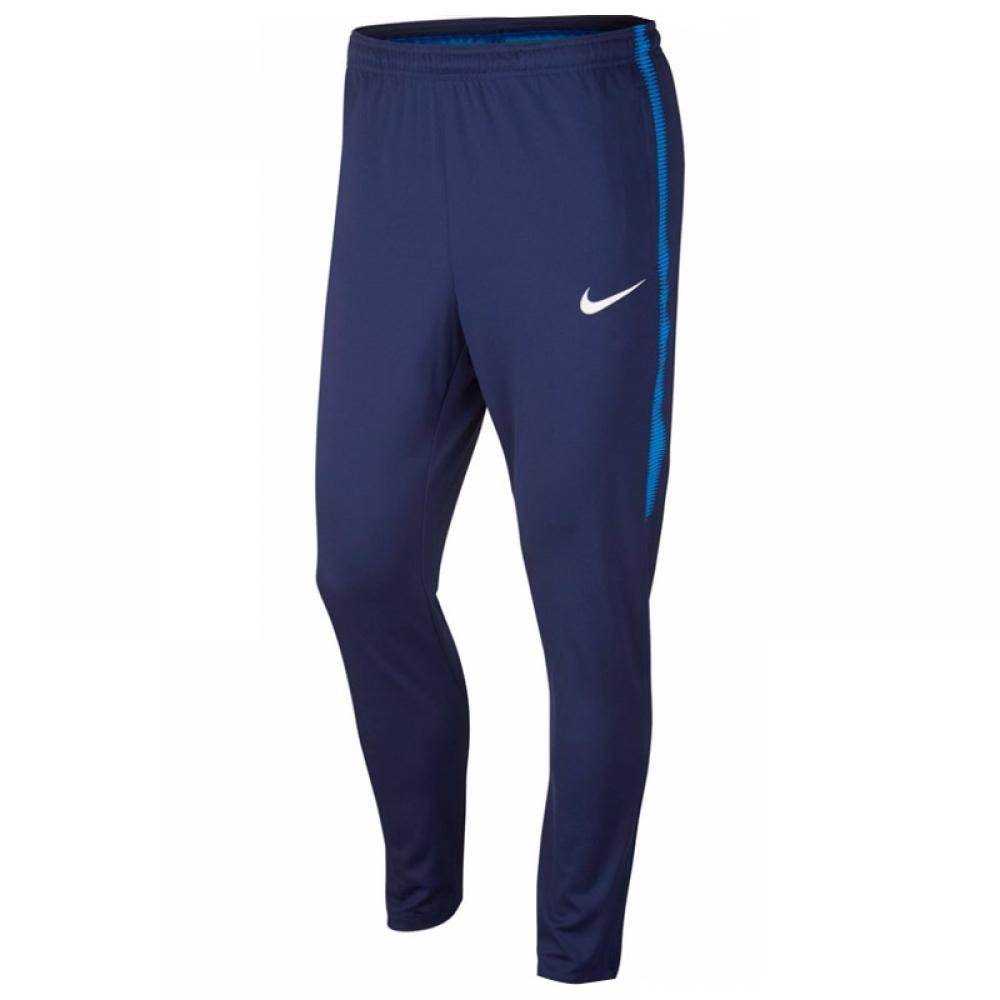 2017-2018 Tottenham Nike Squad Knit Track Pants (Navy)
