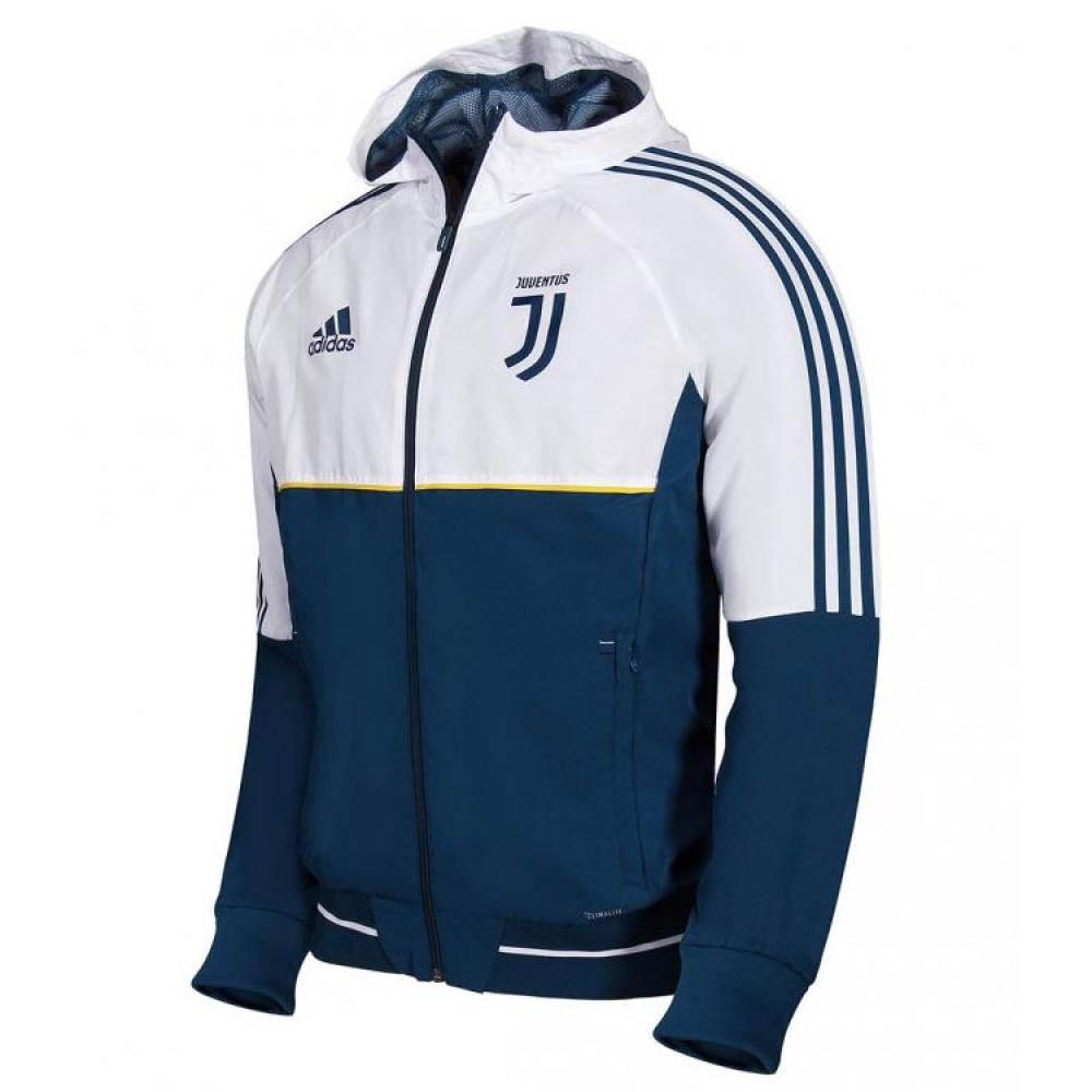 2017-2018 Juventus Adidas Presentation Jacket (Blue-White)