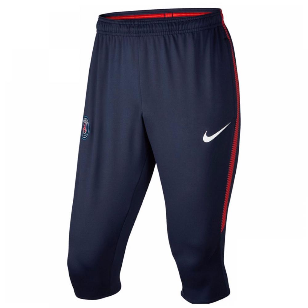 2017-2018 PSG Nike Three Quarter Length Pants (Navy)