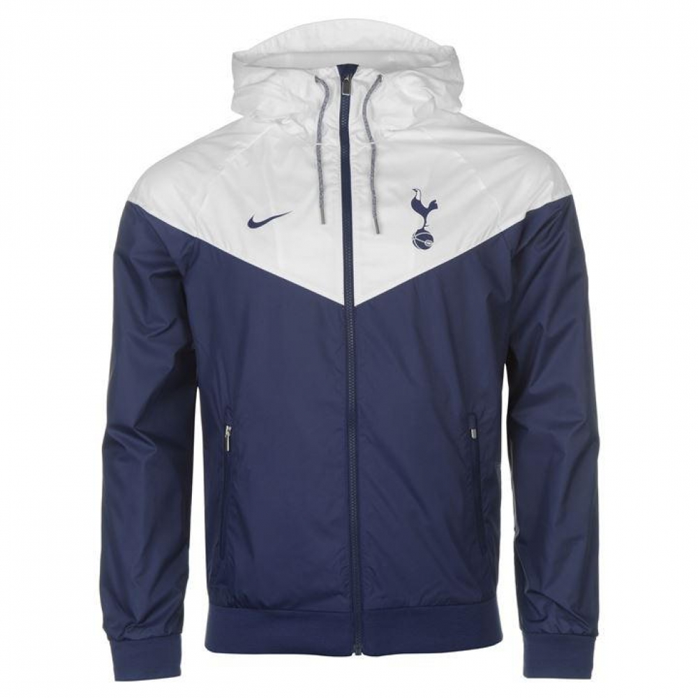 2017-2018 Tottenham Nike Authentic Windrunner Jacket (Navy)