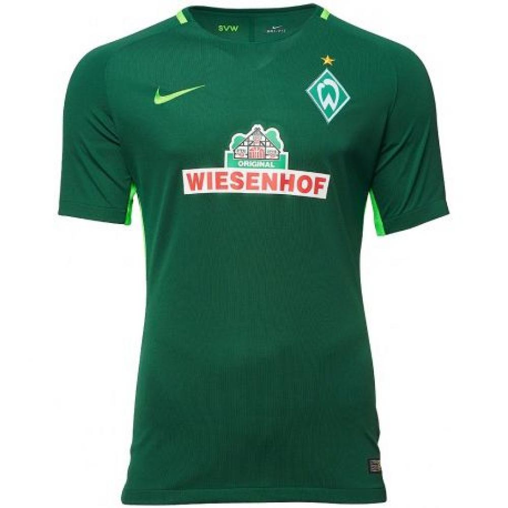 2017-2018 Werder Bremen Home Nike Football Shirt
