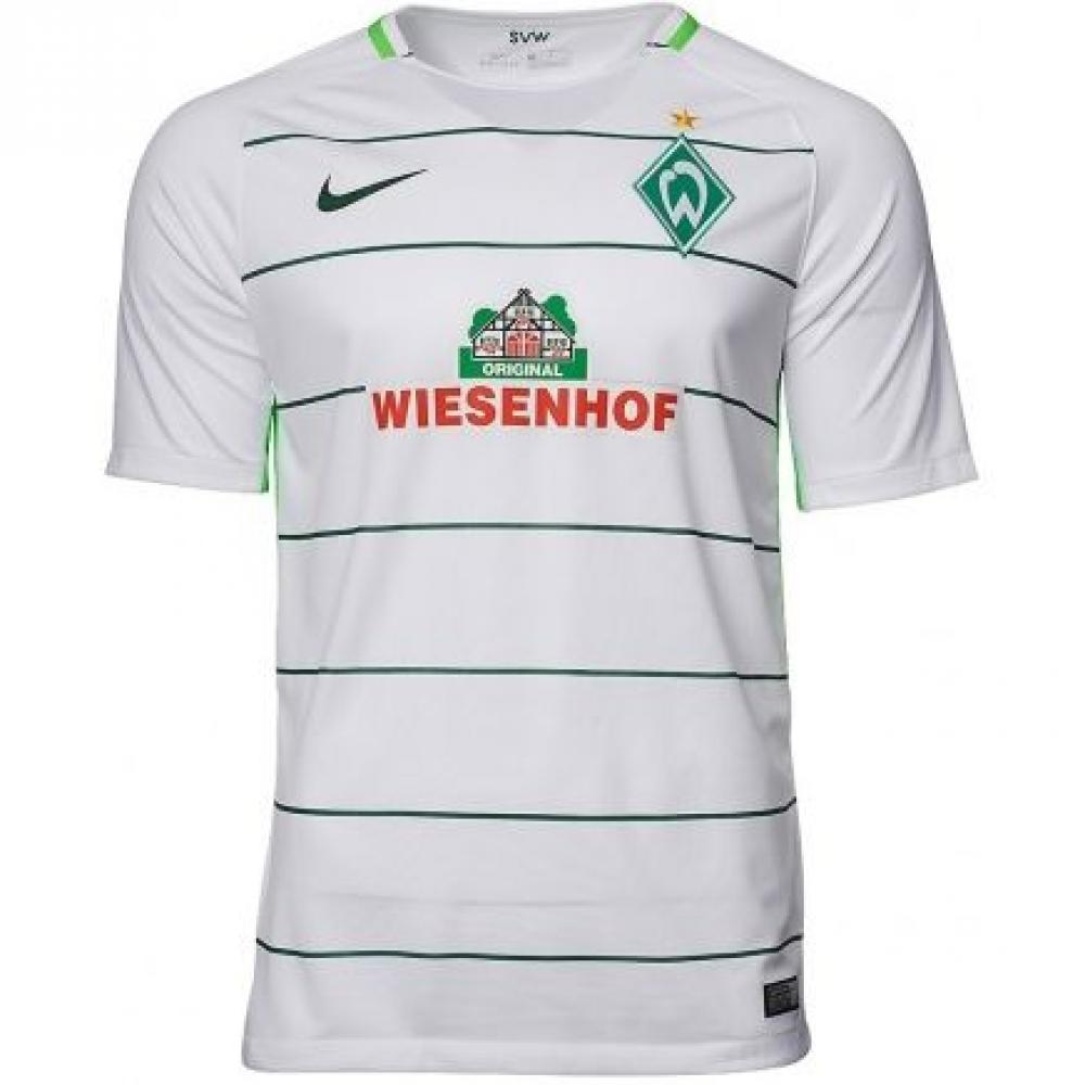 2017-2018 Werder Bremen Away Nike Football Shirt