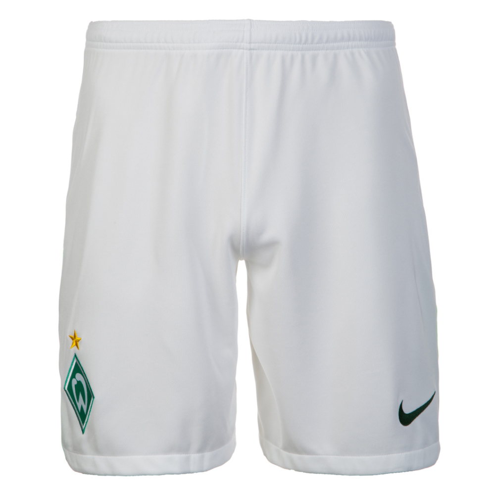 2017-2018 Werder Bremen Nike Away Shorts (White)