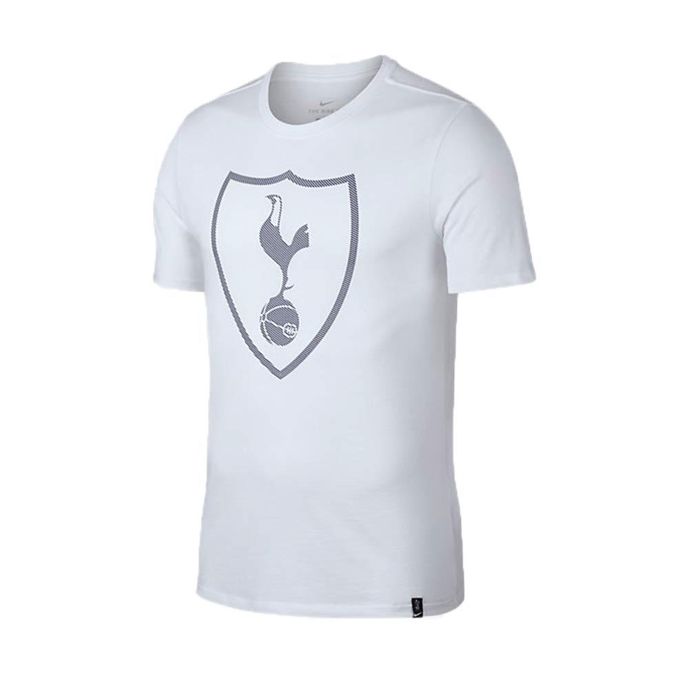 2017-2018 Tottenham Nike Core Crest Tee (White)