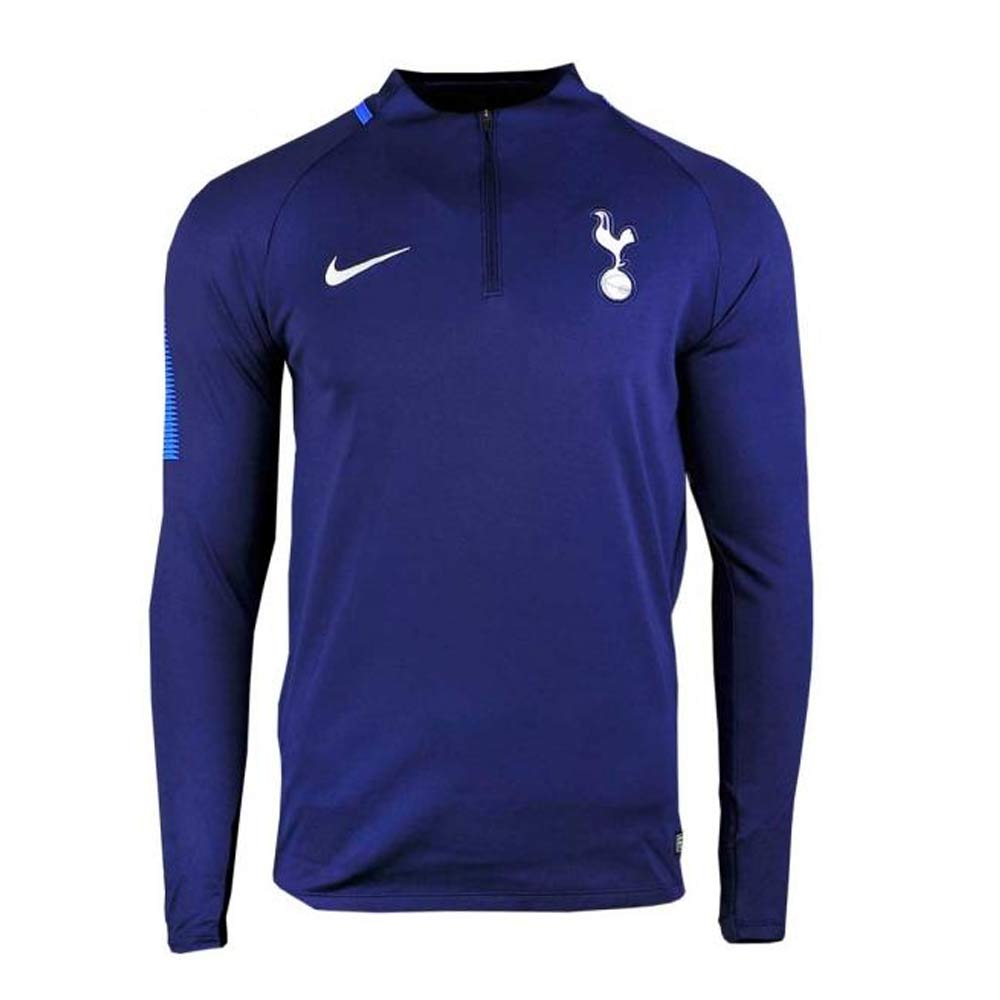 2017-2018 Tottenham Nike Drill Training Top (Navy)