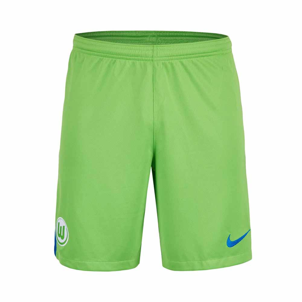 2017-2018 VFL Wolfsburg Nike Home Shorts (Green)