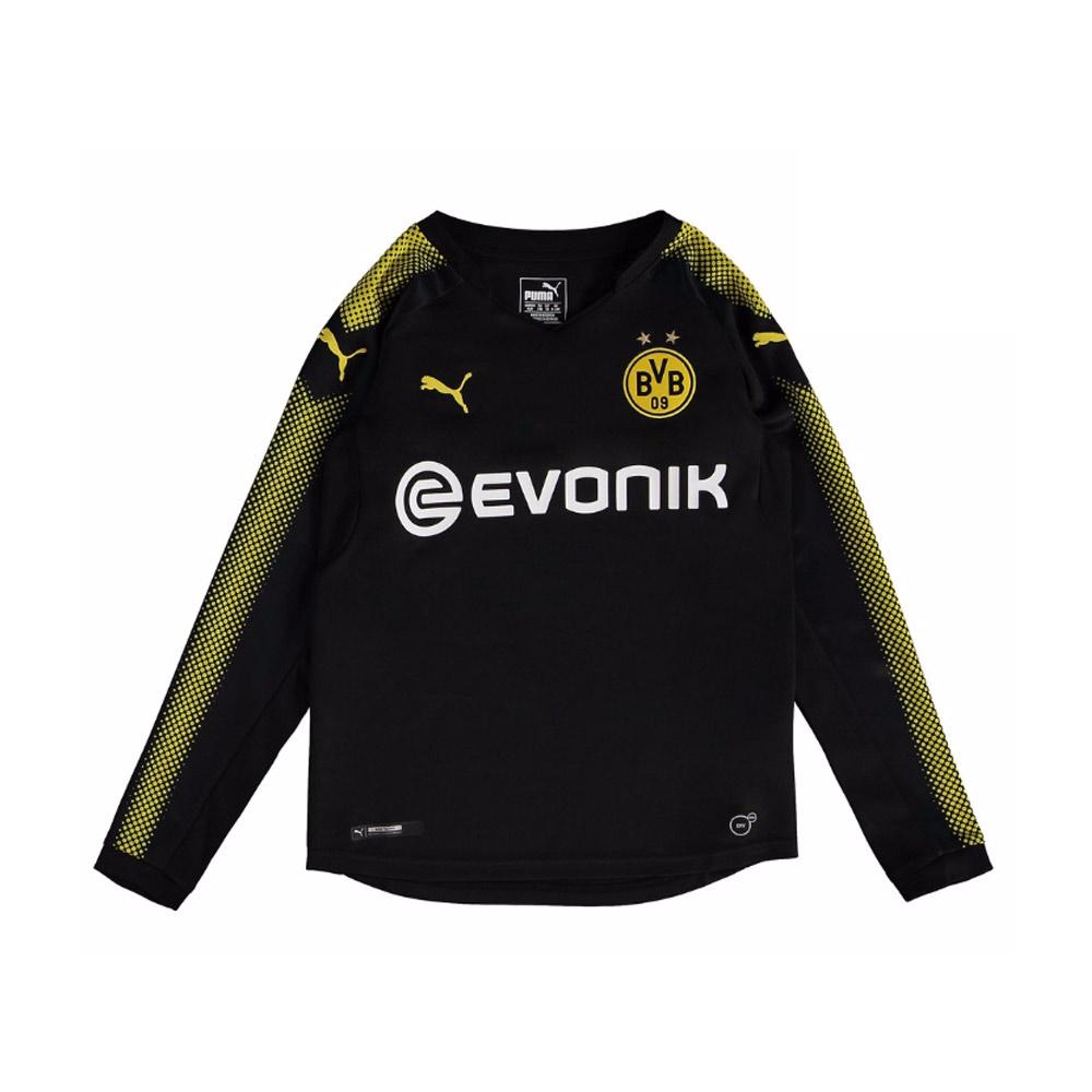 2017-2018 Borussia Dortmund Long Sleeve Away Puma Shirt (Kids)