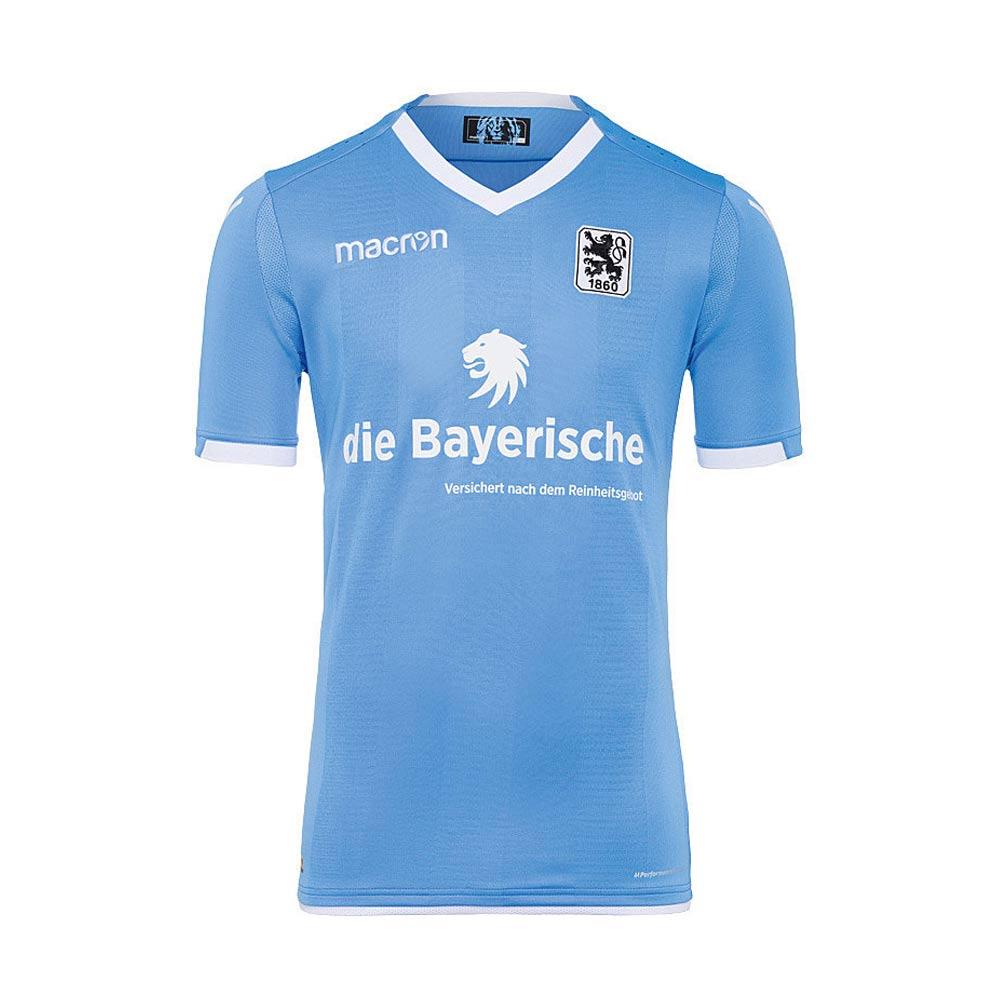 2017-2018 Munich 1860 Authentic Home Match Shirt