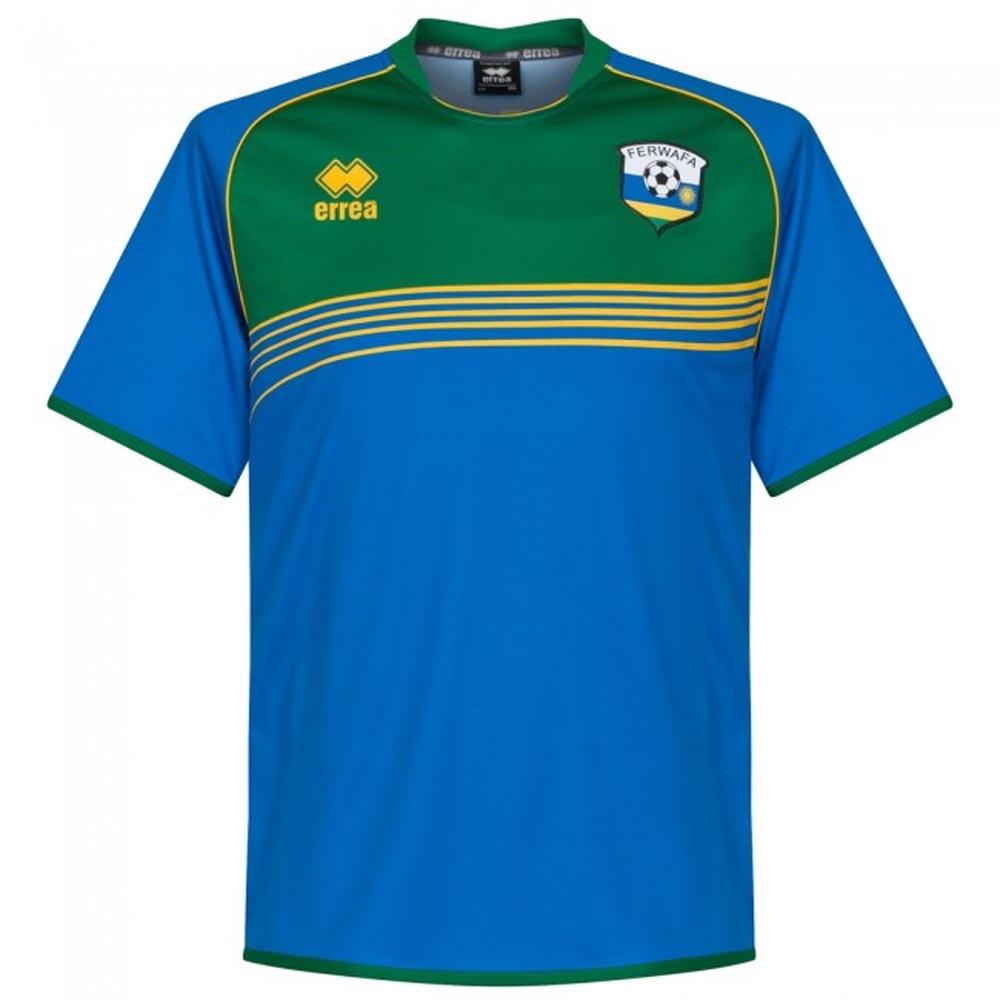 2017-2018 Rwanda Away Football Shirt
