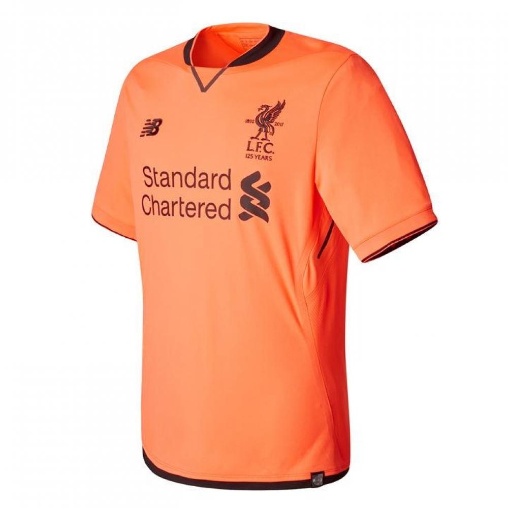 2017-2018 Liverpool Elite Third Football Shirt