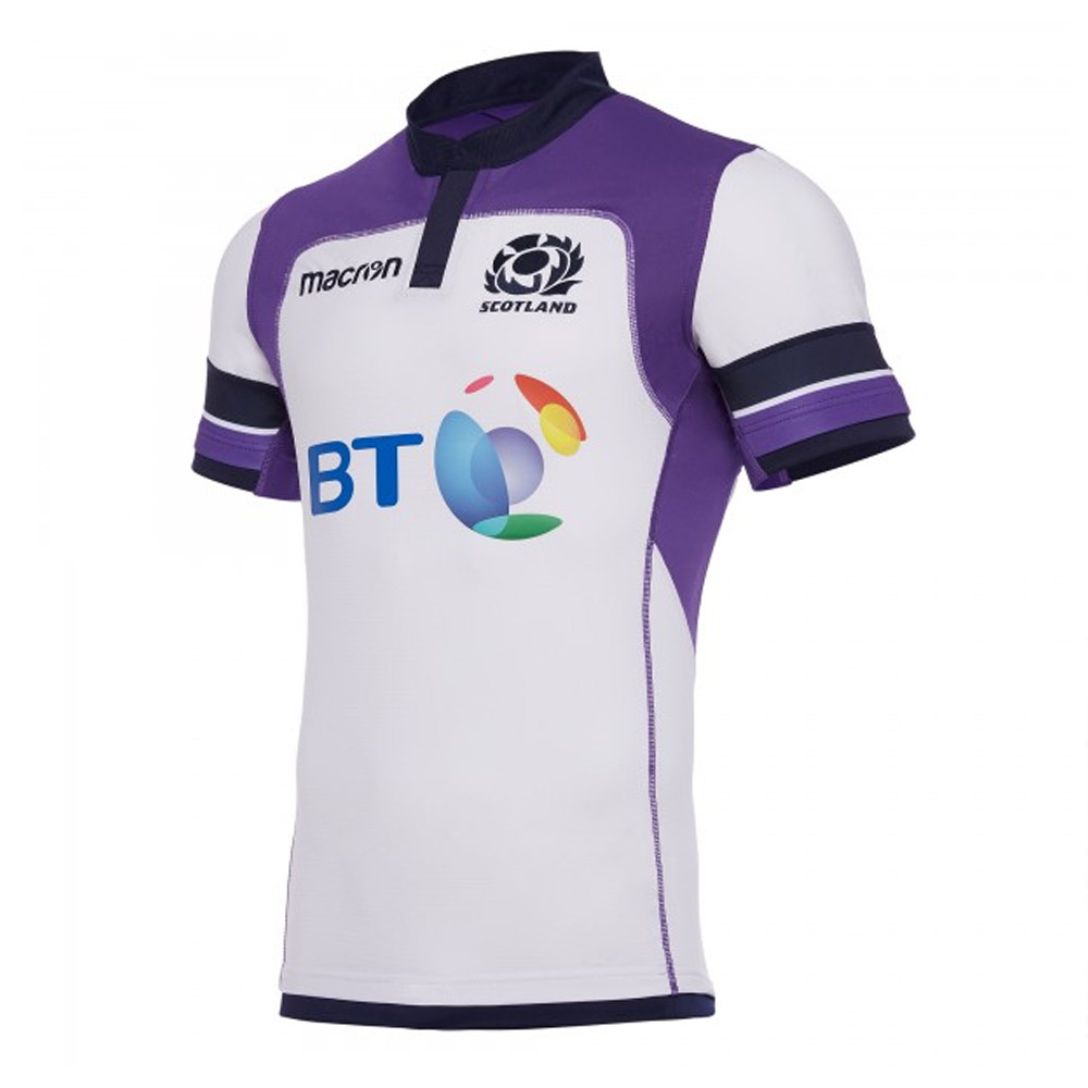 2017-2018 Scotland Alternate Authentic Pro Body Fit Rugby Shirt