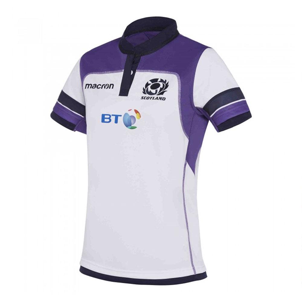 2017-2018 Scotland Macron Alternate Womens Poly Rugby Shirt
