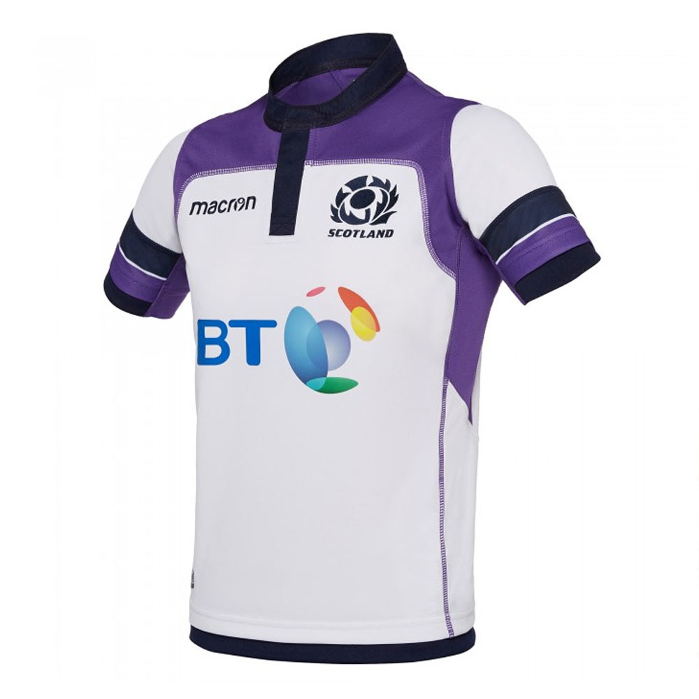 2017-2018 Scotland Alternate Replica Rugby Shirt (Kids)