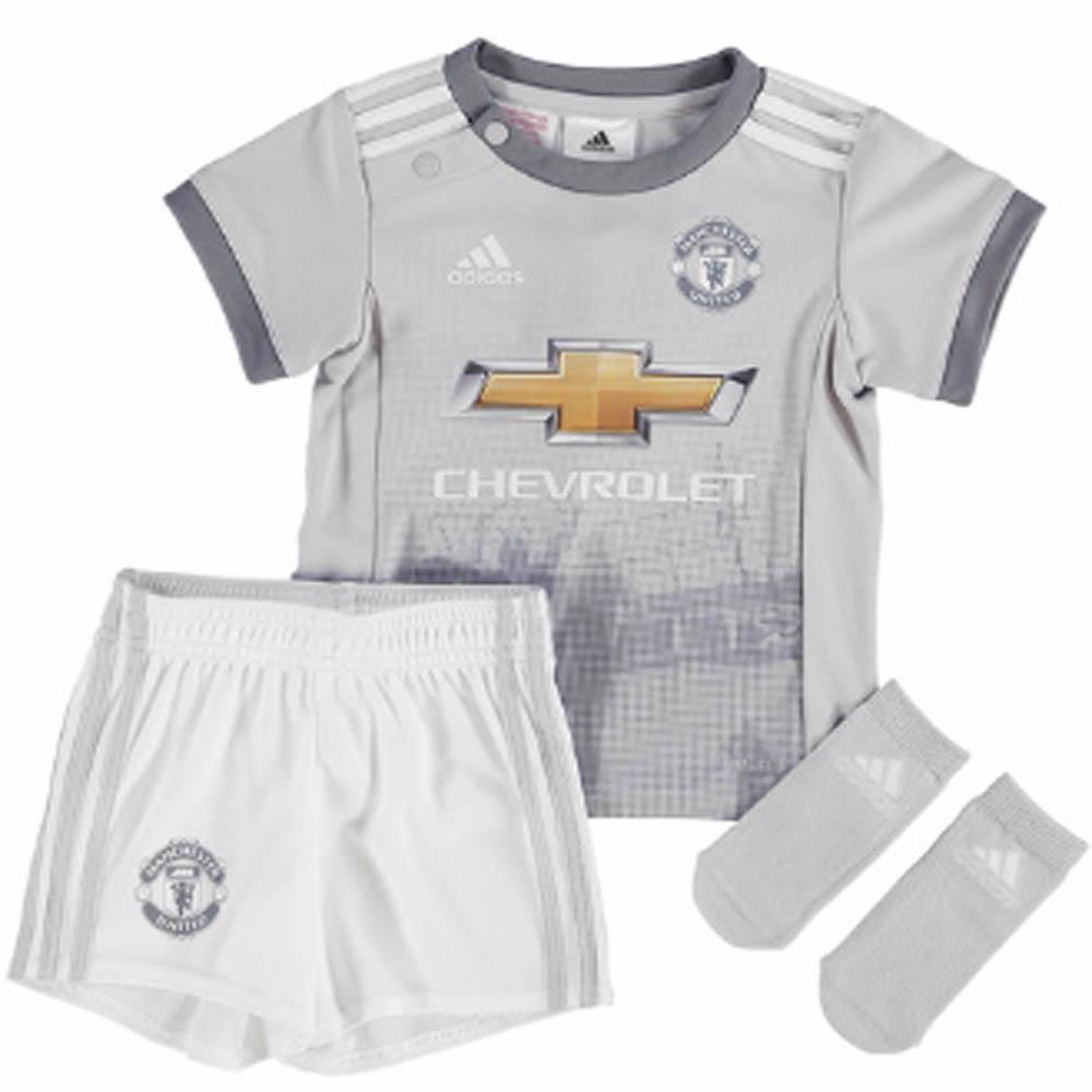 2017-2018 Man Utd Adidas Third Baby Kit