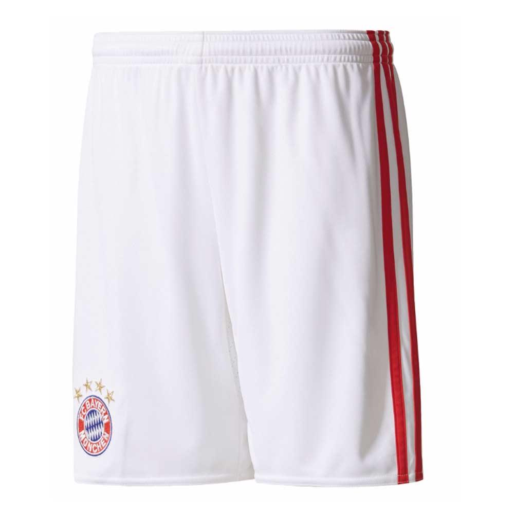 2017-2018 Bayern Munich Adidas Third Shorts (White) - Kids