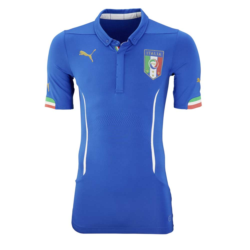 2015-2016 Italy Authentic ACTV Home Puma Football Shirt