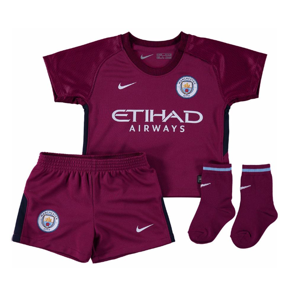 2017-2018 Man City Away Nike Baby Kit