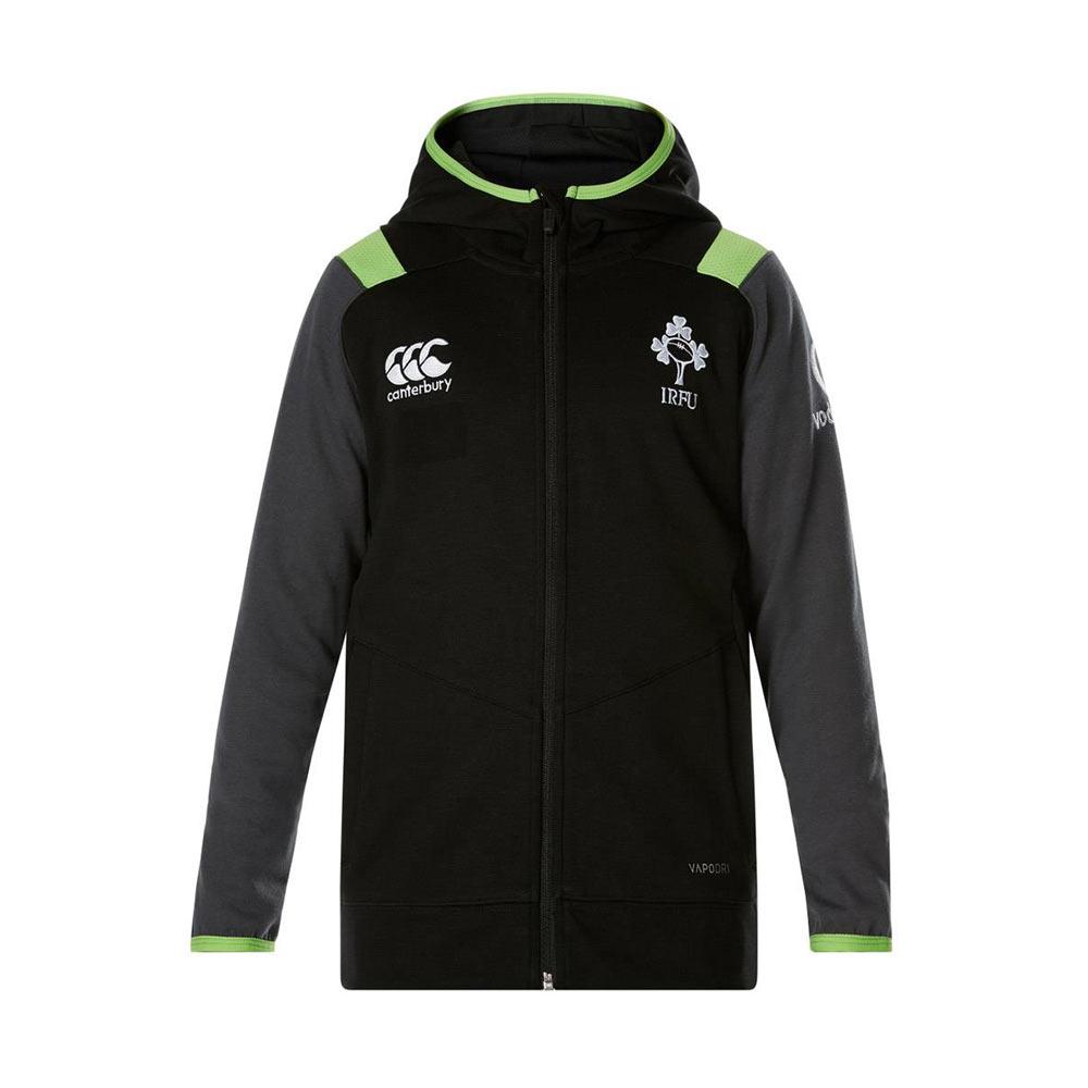 2017-2018 Ireland Rugby Fleece Full Zip Hoody (Tap Shoe)