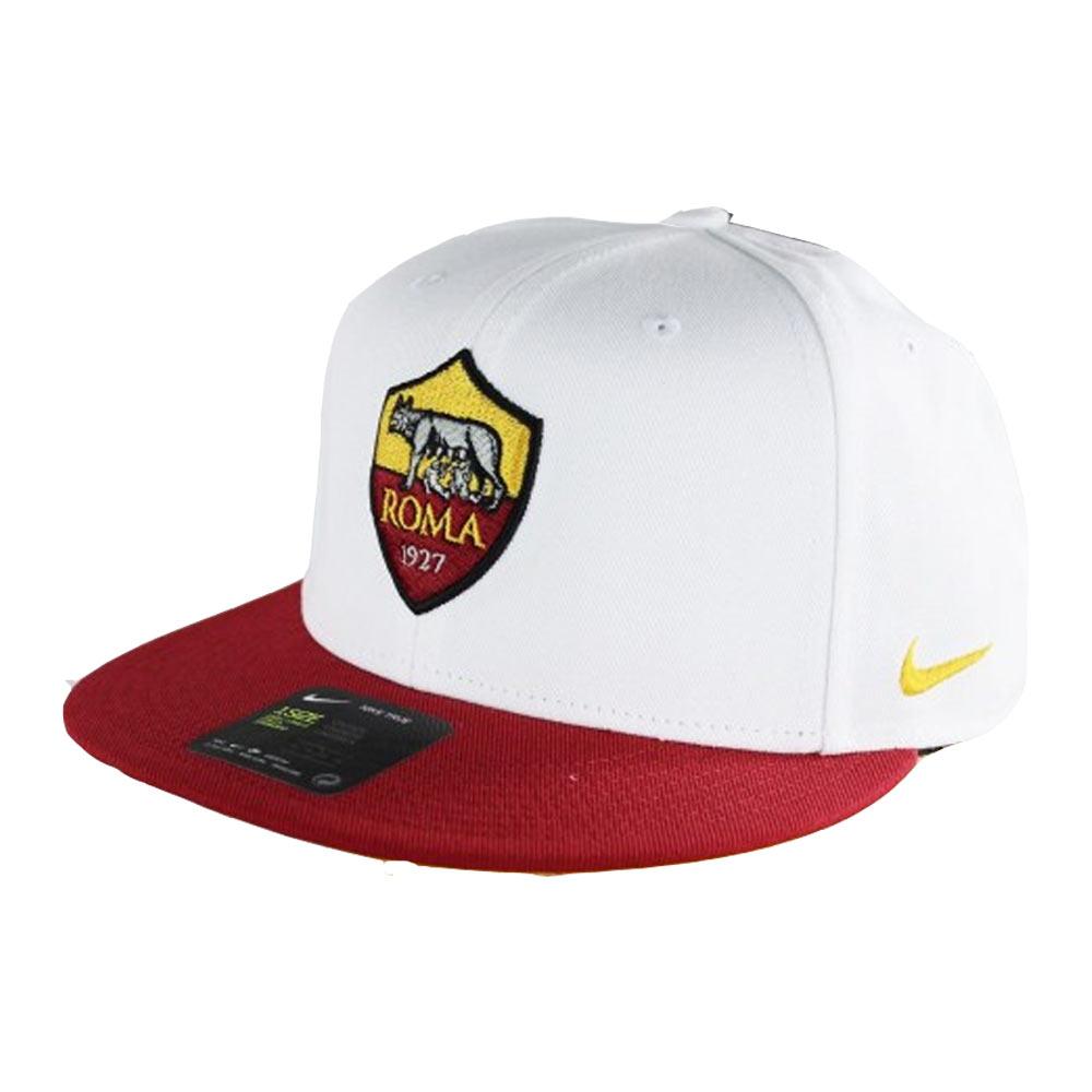 2017-2018 AS Roma Nike Adjustable Cap (White)
