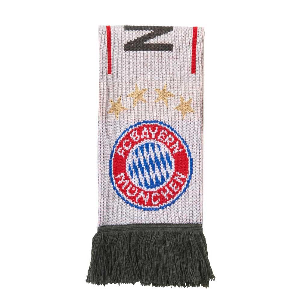 2017-2018 Bayern Munich Adidas 3S Scarf (White)