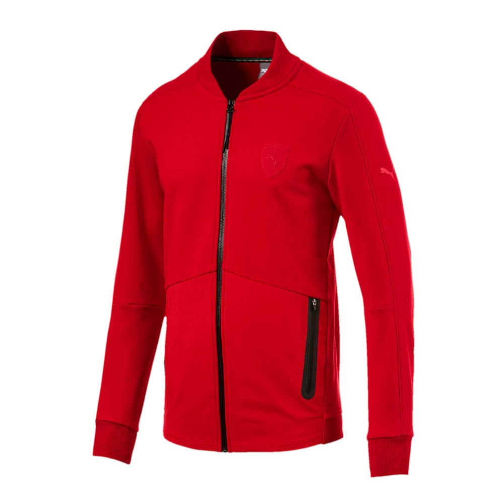 2017 ferrari puma sweat jacket (red) [57346002] - uksoccershop